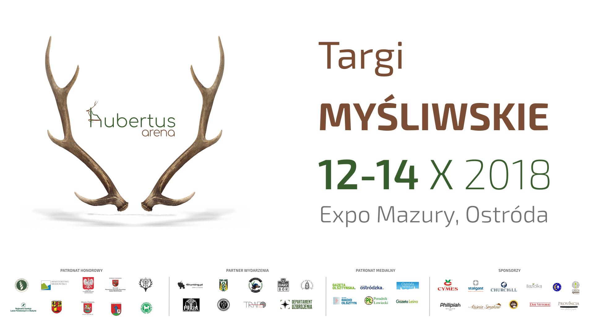 Hubertus Arena 2018 – targi myśliwskie 12-14 października